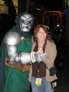 Jan and Dr. Doom, doing the cha cha