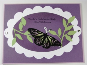 Stamped by Denice Marshall.  All Supplies Copyright Stampin' Up!