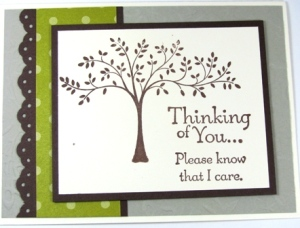 Stamped by Mary Ammar.  All Supplies Copyright Stampin' Up!