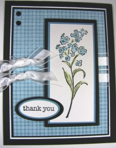 Stamped by Mary Hall.  All Supplies Copyright Stampin' Up!