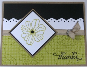 Stamped by Rhea Hughes. All Supplies Copyright Stampin' Up!
