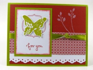 Stamped by Jan Cramer.  All Images copyright Stampin' Up!