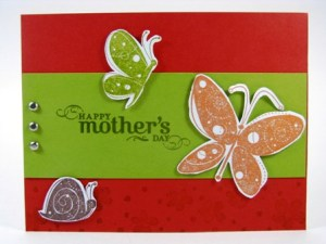 Stamped by Karen .  All Images copyright Stampin' Up!