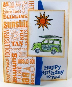 Stamped by Patty Sharkey.  All Images copyright Stampin' Up!