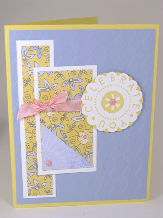 All Images Copyright Stampin' Up!  Stamped by Rhea Hughes