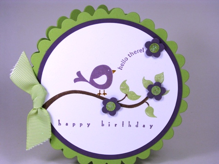 All Images Copyright Stampin' Up!  Stamped by Sharon Burkert