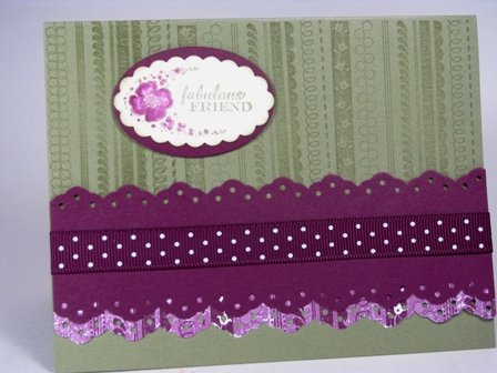 All Images Copyright Stampin' Up!  Stamped by Susan Gudmunson