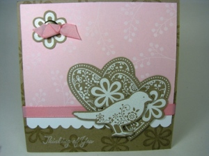 Stamped by  Deborah LaRue All Images copyright Stampin' Up!