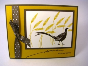 Stamped by Linda Goldhersz.  All Images Copyright Stampin' Up!