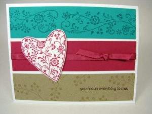 Stamped by Mary Taylor  All Images Copyright Stampin' Up!