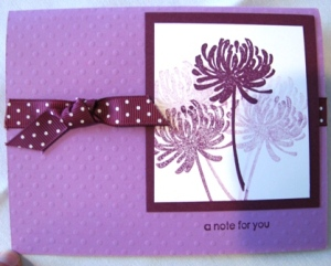Stamped by Estell Brickhouse.  All Images Copyright Stampin' Up!