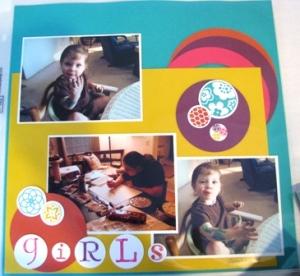 scrapbook page 2 Cindy