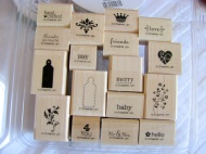 TINY TAGS (all images copyright Stampin' Up!)