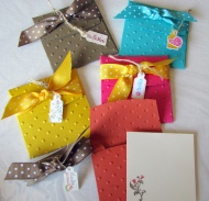 SET OF 6 ENVELOPES ROLLED OUT WITH BIG SHOT (all images copyright Stampin' Up!)
