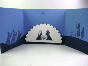 Inside of Card - Mari Fredericks All Images Copyright Stampin' Up!