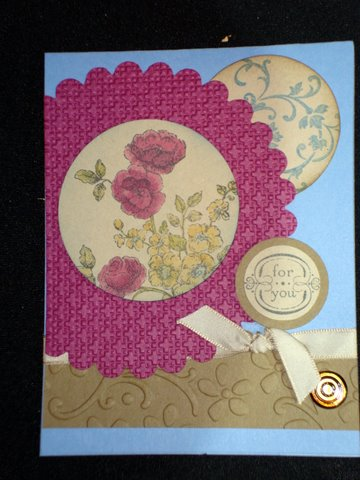 This was one of my favorite cards created by Cindy Fodor