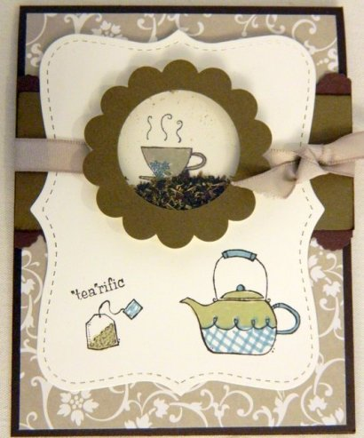Debra LaFountaine inspired by Stampin' Connection