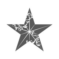 Christmas Star Single Stamp (online promo)