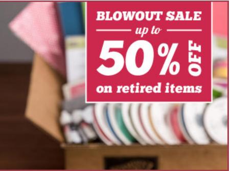 50 percent off sale