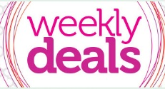 weekly deals widget