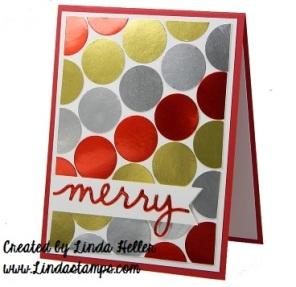 merry foil sheets linda heller