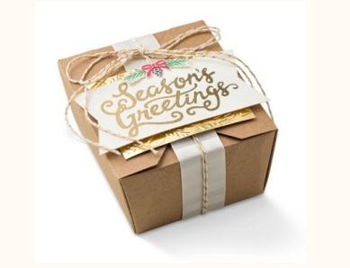 SS gold takeout box
